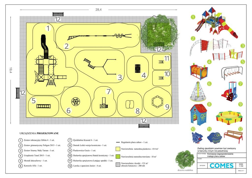 projekt placu zabaw budżet obywatelski